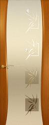 Буревестник-2 Бабочки (Анегри) ДО,Стекло белое.Коллекция Гламур