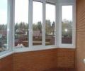 Утепление балконов и лоджий окнами ПВХ